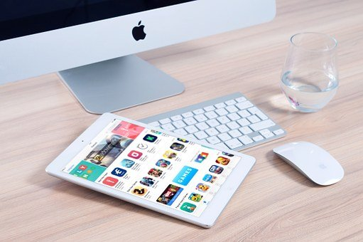 Imac, Apple, Mockup, App, Ipad, Mouse, Device, Design
