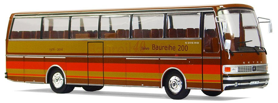 Setra, S215 Hd, 1976, Buses, Collect, Model Cars, Hobby