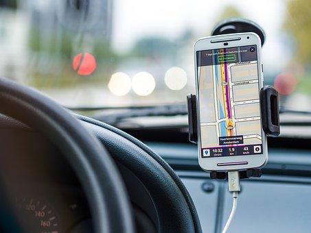 Navigation, Car, Drive, Road, Gps, Transport, Travel
