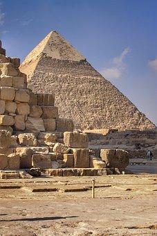 Pyramids, Giza, Egypt, Pyramids Of Giza, Unesco