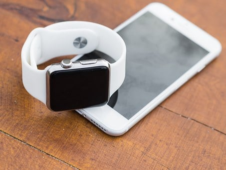 Iphone, Iwatch, Smartphone, Smartwatch, Smart, Watch