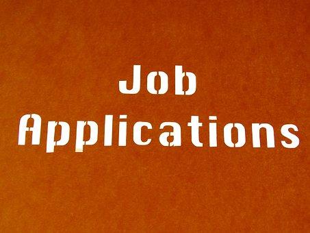 Job, Application, Text, Contour, Outlines, Silhouette