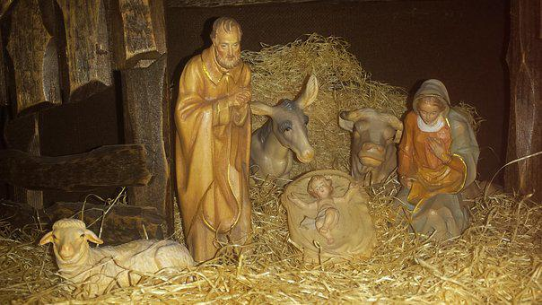 Nativity Scene, Christmas, Advent, Baby Jesus, Redeemer