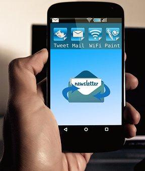 Newsletter, Message, Smartphone, Mobile Phone, App