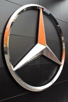 Mercedes Star, Brand, Emblem, Automotive, Pkw, Sale