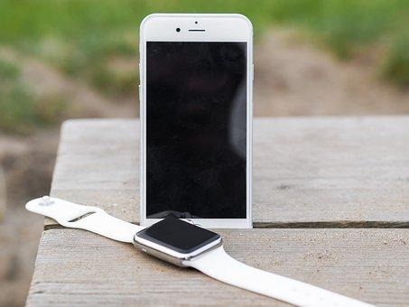 Iphone, Iwatch, Smartphone, Smartwatch, Smart, Watch