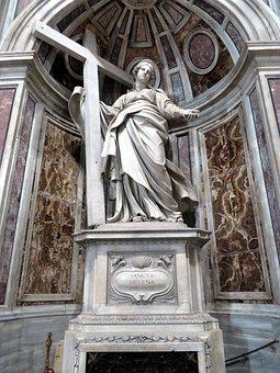 St Helena, St Peter's Basilica, Rome, Vatican, Statue