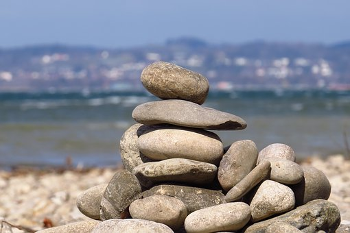 Water, Stones, Lake Constance, Water And Stone, Nature