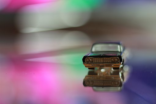 Car, Toy, Fun, Photography, Bokeh, Tiny, Color, Cute