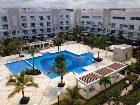 La Romana, Hotel, Pool, Courtyard, Paradise, View