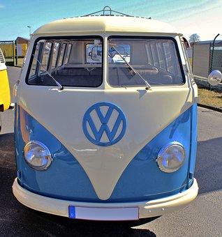 Bus, Vw, Car, Automobile, Vintage, Bulli, Classic, Van