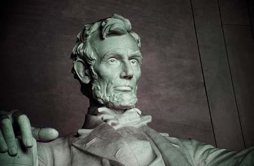 Abraham Lincoln, Lincoln Memorial, Washington Dc