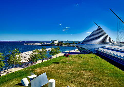 Milwaukee, Wisconsin, Art Museum, Landmark, Attractions