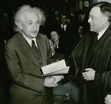 Albert Einstein, 1 October 1940, Phillip Judge Forman