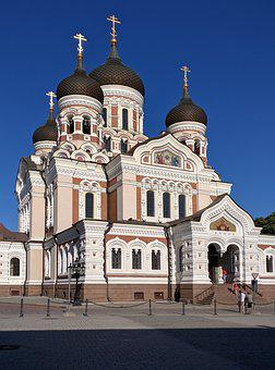 Alexander Nevsky Cathedral, Tallinn, Estonia, Church