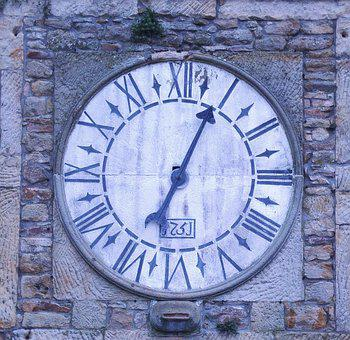 Clock, Old, Antique Watch, Vintage, Church, Tower, Time