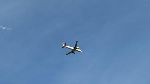 Aircraft, Chemtrails, Contrail, T, Airliner, Sky