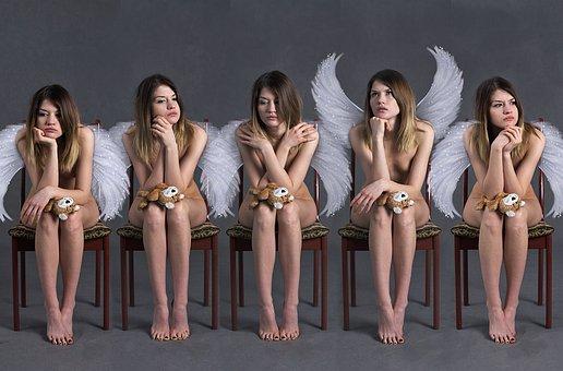 Angels, Demographic Decline, Girls, Women, Sadness