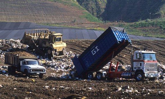 Land Fill, Trash, Dump, Environment, Fill, Pollution