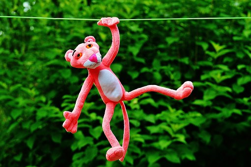 Hang Out, Soft Toy, The Pink Panther, Toys, Fun, Funny