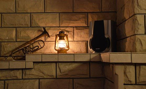 Light, Trumpet, The Interior Of The, Heat, Candle