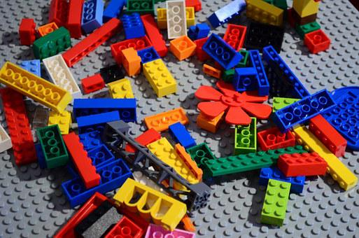 Lego, Colors, Toys, Build Up, Disorder, Chaos