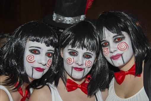 Masked Ball, Carnival, Glarus, Music, Make Up, Panel