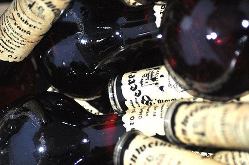 Wines, Beverages, Chaos, Middle Ages, Market, Bottles
