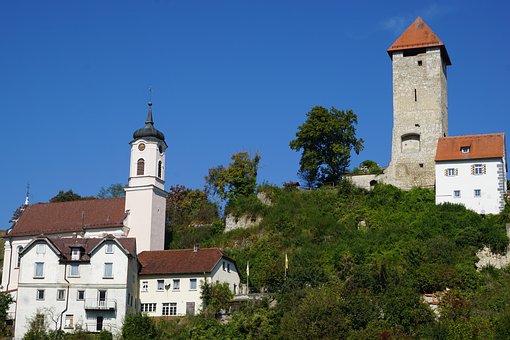 Obermarchtal, Church, Monastery, Tree, Germany