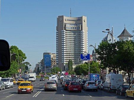 Bucharest, Million City, Thoroughfare, Morning Traffic