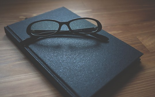 Glasses, Notebook, Wooden, Business, Business Woman
