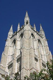 Philadelphia, Cathedral, Presence, Blue, Sky, Granite