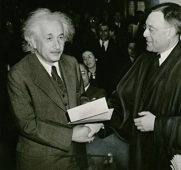 Albert Einstein, 1 October 1940, Phillip Judge Forman