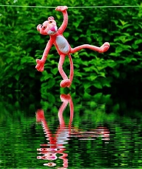Water, Mirroring, Hang Out, Plush Toys