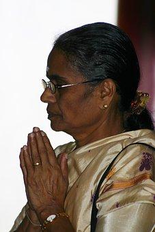 Religion, I Pray, Pray, Women, Hindu