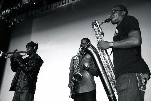 Seun Kuti Egypt 80, African Music Band, Trumpets, Music