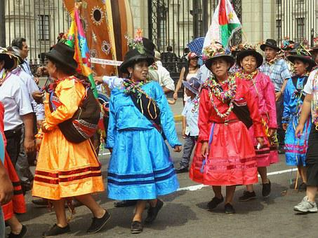 Peru, Lima, South America, Colorful, Color, Road