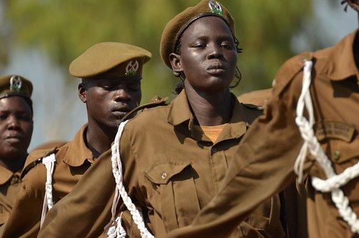 Africa, Army, Women, South Sudan