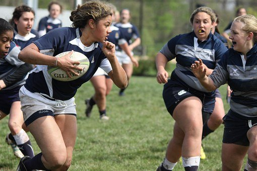 Rugby, Women, Sports, College, Penn State, Usa
