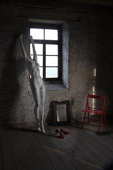 Space, Keller, Still Life, Window, Atmosphere