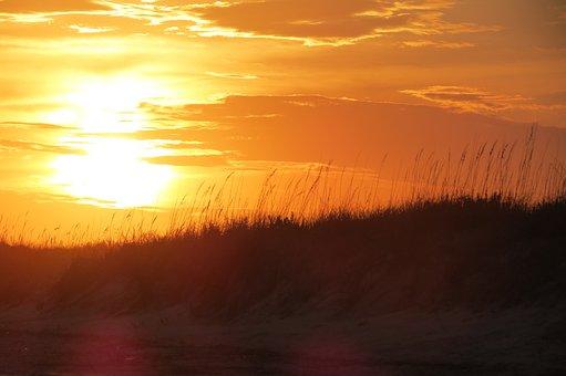 Sunset, Sunrise, Bleach, Beach Sunset, Sunrise Beach