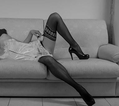 Woman, Sensual, Sensuality, Black And White Lace, Body