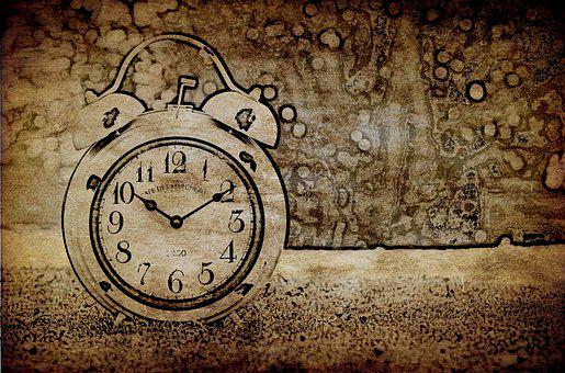Clock, Antique, Old, Time Of, Time, Clock Face, Pointer