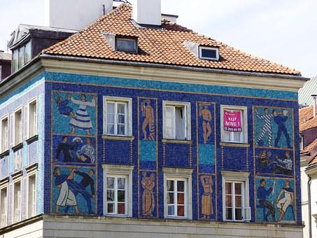 Building, Kamienica, Decorative, Antique, Architecture