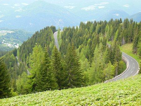 Roßfeld, High Alpine Road, Berchtesgaden, Bavaria