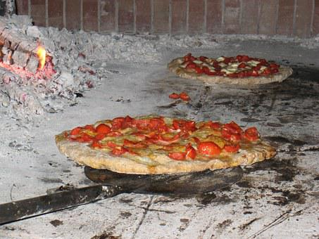 Pizza, Wood, Burning, Oven, Bake, Stone, Heat, Hearth
