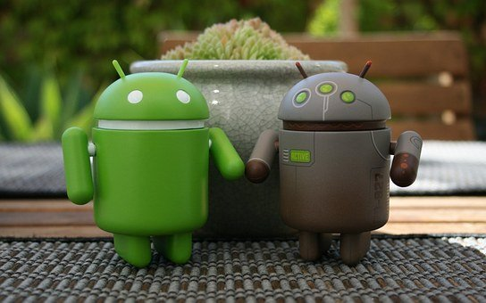 Android, Couple, Computer, Technology, Man, Woman