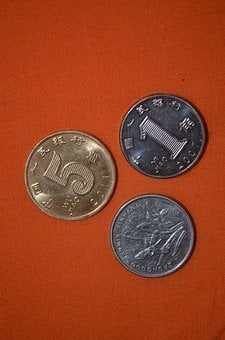 Coin, Coins, Small, Value, Currency, Chinese, Prc