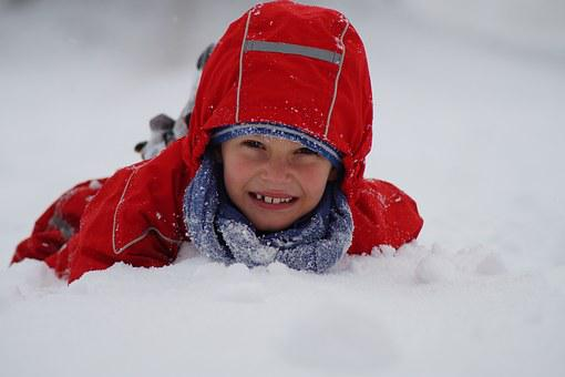 Child, Winter, Snow, Trip, Family, Snowflake, Baby Boy