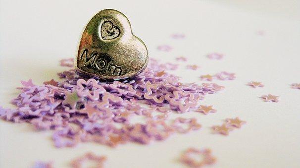 Stars, Heart, Love, Mom, Mother, Family, Shape, Design